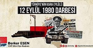 Berker Esen, 'Hak Hukuk Adalet mücadelemiz...