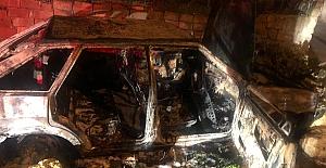 Fener#39;deki otomobil yangınında...