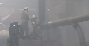 Fabrika'da yangın büyümeden söndürüldü