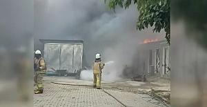 Kumburgaz'da korkutan yangın