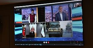 Yılmaz, Azerbaycan televizyonuna konuk oldu