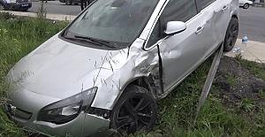 Silivri#039;de Trafik Kazası: 1 yaralı