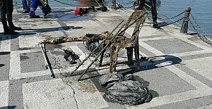 """Silivri'de """"Denizde Temizlik Var"""" temalı sualtı deniz temizliği etkinliği gerçekleştirildi"""