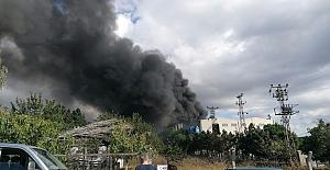 Silivri'de peş peşe fabrika yangını