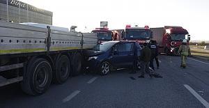 Silivri'de 3 ayrı trafik kazasında 2 kişi yaralandı