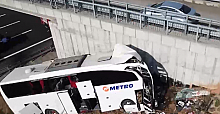 İstanbul'da otobüs kazası:  5 ölü 25 yaralı