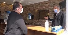 Silivri'de Koronavirüs denetimleri devam ediyor