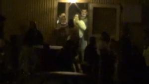 Silivri'de tekme ve yumrukların havada uçuştuğu kavga
